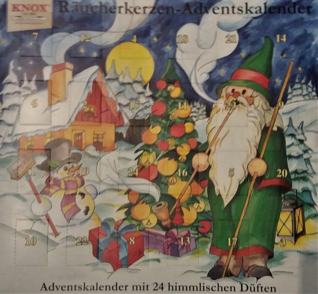 Duftende Weihnachtskalender