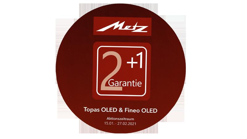 Metz OLED-TV mit 2+1 Garantie